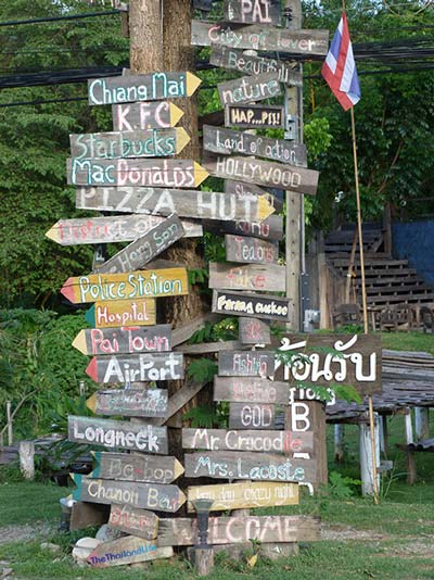 where to go in pai