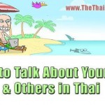 How to talk about yourself and others in thai