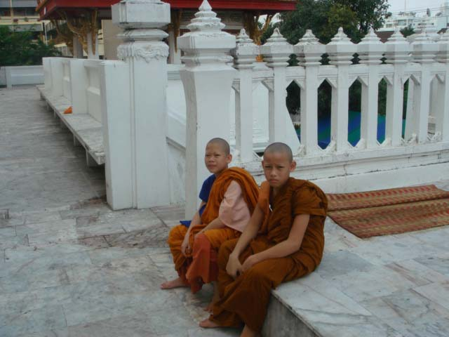 teenage monks