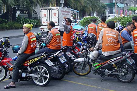 motorcycle taxis thailand