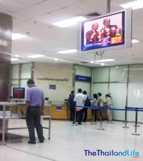 thai passport office queue