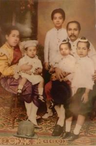 Thai Royal family Rama 5