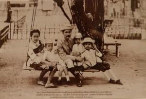 Rama 5 family king thai