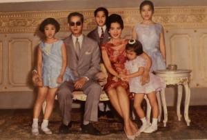 rama 9 family king Bhumibol Adulyadej
