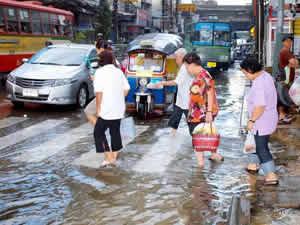Raint Season Thailand