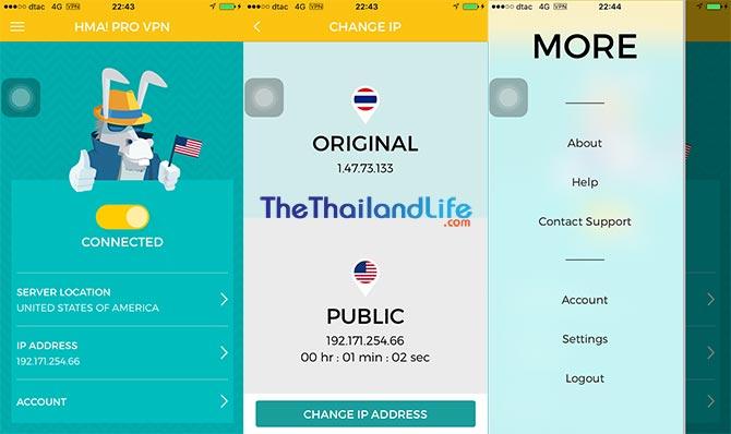hidemyass vpn app thailand