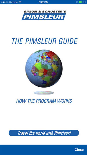pimsleur app