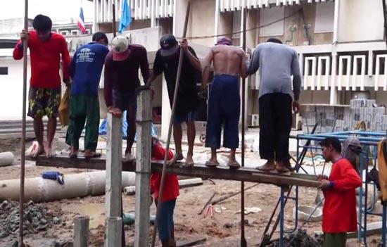 condo unsafe thailand