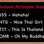 Thai acronyms