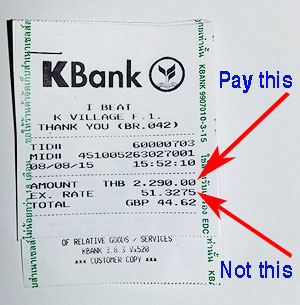 Beware of the Big Bad Baht Scam!