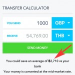 How to Send Money to Thailand With No Bank Fees & Save Over $75 per Transaction