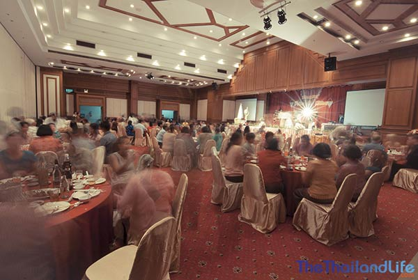 thai wedding reception