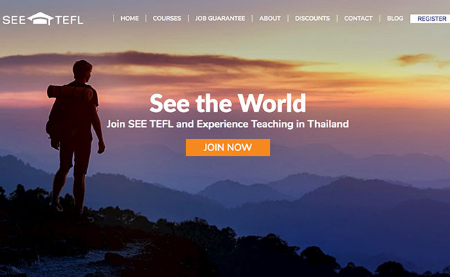 see tefl course thailand