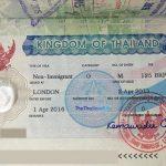 thai visa thailand