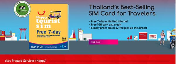 thailand tourist sim tracking