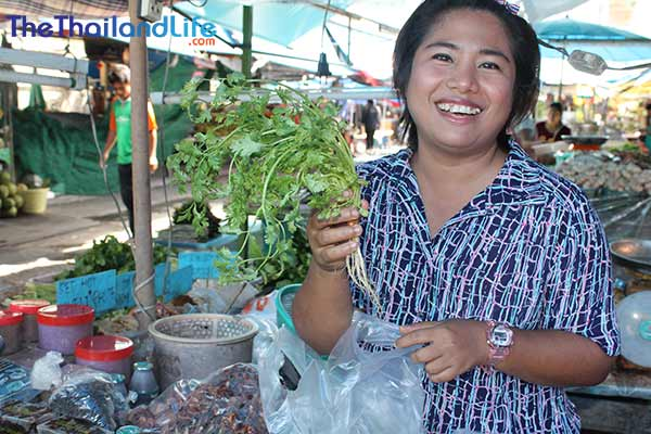 thai food seller lady