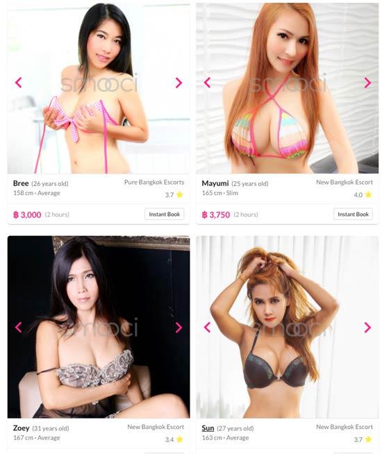 hire a bangkok escort