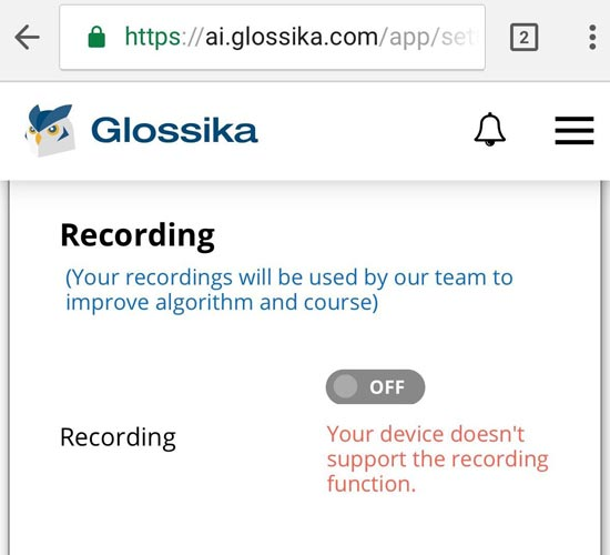 Glossika-mobile-experience