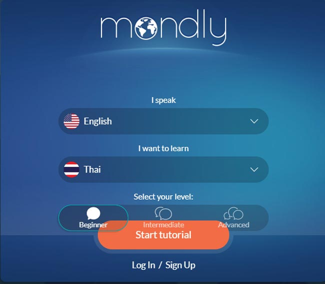 Mondly-Review-Home-Screen
