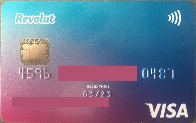 my-revolut-card